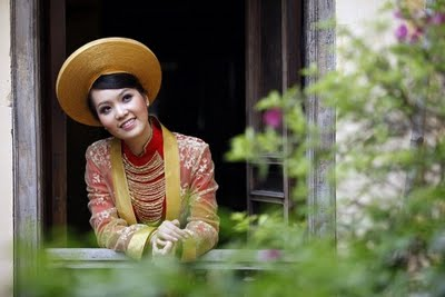 Ao Dai Hue beauty